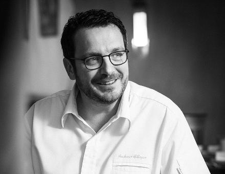 Februar 2016 Porträt über Andreas Hillejan im Marktrestaurant in Mittenwald für das Kundenmagazin von Hügli